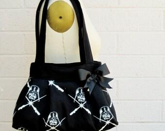 Darth Vader Glow in the Dark Handbag, Darth Vader Purse, Star Wars Purse, Star Wars Bag