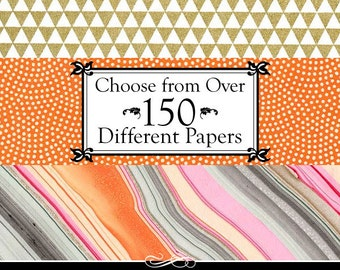 Craft Paper Pack. 10 Chiyogami, Katazome, and Italian Decorative Papers. 4x6 inches. Large Selection. Create Your Mix.
