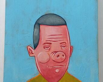 The Elusive Robert Denby - Original Art by Kevin Kosmicki