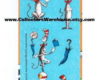 Cat in the Hat Sticker Strip NIP by Sandylion MOC stickers Dr.Seuss