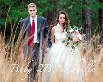 Wedding Tutu Women's Full Length Ruffled Ballroom Style Ivory Bridal Tulle Skirt  Ladies 8-14