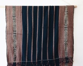 Vintage IndigoTextile - ikat, throw, bedspread