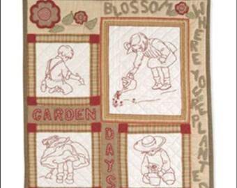 Indygo Junction - Storybook Stitches Book III - Garden Play