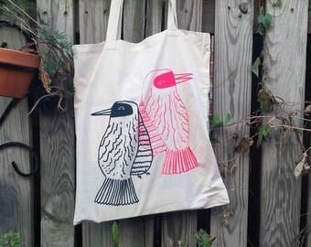 Bird Pair Tote