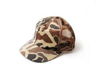 Vintage Army Brown Cap