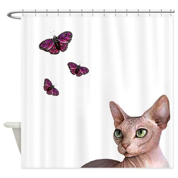 Items similar to funny shower curtains art shower curtain for Funny shower curtains
