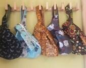 Walk, Talk, and Knit Wristlet - Sock Knitting - Japanese Knot Bag