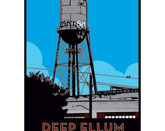 Deep Ellum Framed Art Print