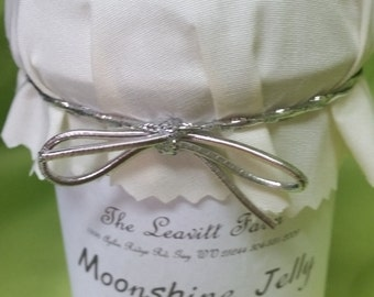 Moonshine Jelly ( and fruit flavors too: ApplePie, Blackberry, Peach, Strawberry)