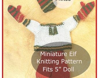 Mini Elf Knitting Pattern : Elf clothing pattern Etsy