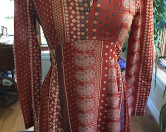 1970 Maxi Gown  hand made