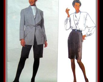 Vintage 1991-ISSEY MIYAKE ORIGINAL-Vogue Designer Sewing Pattern- Japanese Avant Garde Couture –Size 12-Mega Rare-Very Collectible