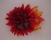 Fallin' For Your Autum Inspired Retro Pinup Hair Flower