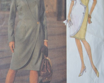 Misses Dress - Vogue 8719 Pattern - UNCUT
