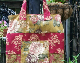 French Fabric Market Tote / Bag