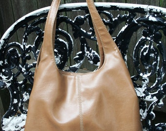 Beautiful Nine West Dark Tan Handbag / Purse