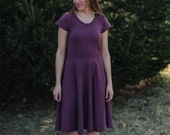 Ollie Organic Cotton Jersey Knit Dress Made in the USA - Organic Cotton Clothing