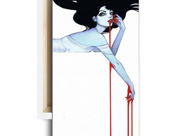 "LIMITED EDITION: ""Vamp"" Canvas Reproduction 1 of 10"