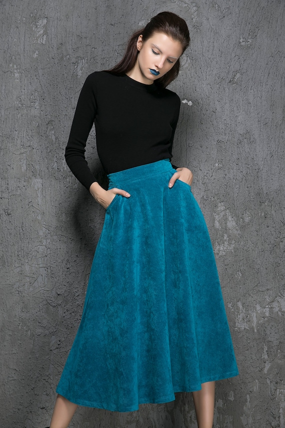 Free shipping and returns on Topshop A-Line Corduroy Skirt at shopnow-bqimqrqk.tk Burnished snaps stud the front of an A-line skirt fashioned from velvet corduroy/5(2).