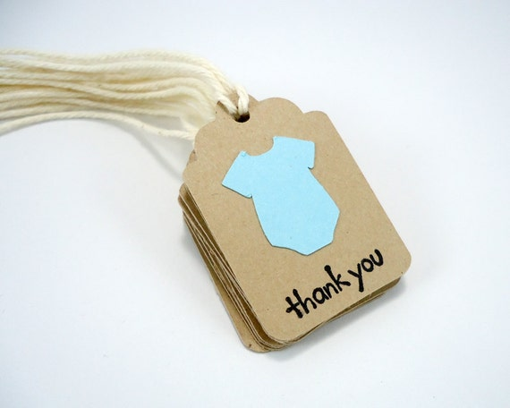 baby shower tags, baby boy tags, baby shower favor