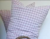 pair of european pillows