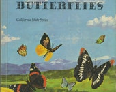 Western Butterflies, California State Series Textbook, 1967, Vintage School Book, California Butterfly Identification, Lepidoptera