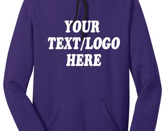 District® Juniors The Concert Fleece™ Hoodie DT811 Custom District Hooded Sweatshirt Available All Colors & Sizes