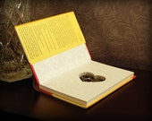 Hollow Book Safe with Heart (A Little Book of Love)