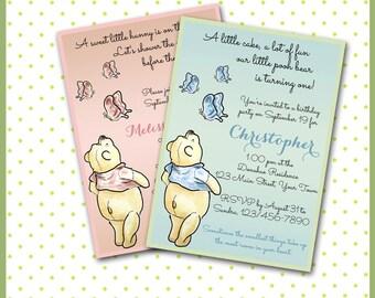 il_340x270.813399766_jii2 classic pooh invite etsy,Vintage Winnie The Pooh Invitations
