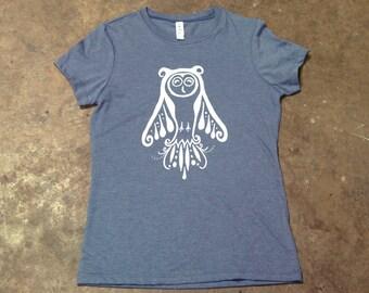 Owl Ladies T-Shirt - Screenprint Tee