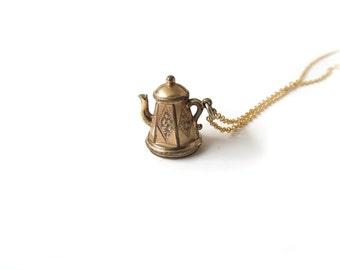 Antique Gold Filled Teapot Charm c.1900