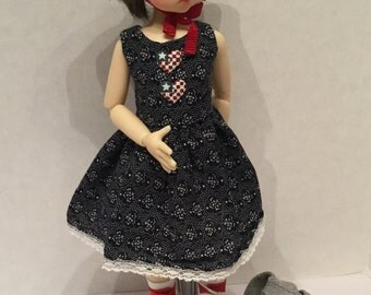Sleeveless Dress for KW MeiMei and other MSD BJD girls