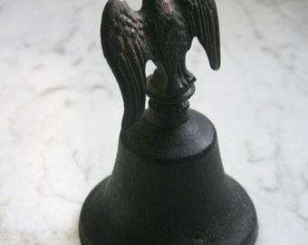 Vintage Cast Iron Bell Eagle