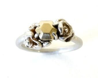 Elegant Hexi Ring