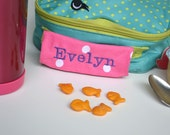 Personalized Handle Wrap - First Name - Perfect for Back to School, Lunch Box, Backpack
