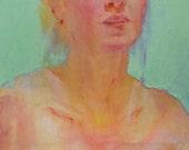 Telesthetic, Original Oil Painting