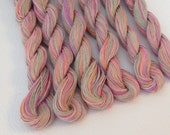 """Size 10 """"Spring Fling"""" Hand Dyed Egyptian Cotton Thread - 50 Yard Skein"""