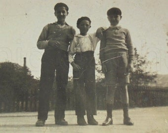 1930's Photo - Three Pals