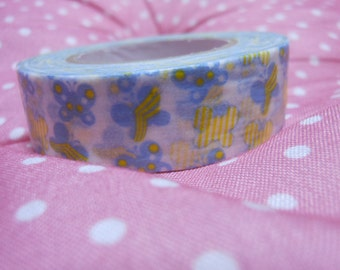Japanese washi tape butterfly