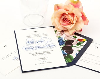 Wedding Invitations - The Lovebird Suite, Purchase this deposit to get started