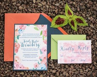 Farm Fete Wedding Invitation