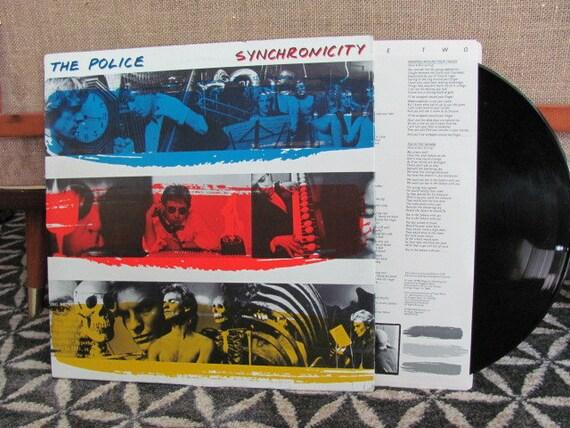 Vintage Synchronicity Police Vinyl Record Album