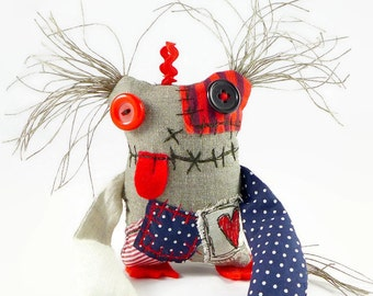 Monster Doll - Baby Monster - Friendly Monster - Quirky Gift