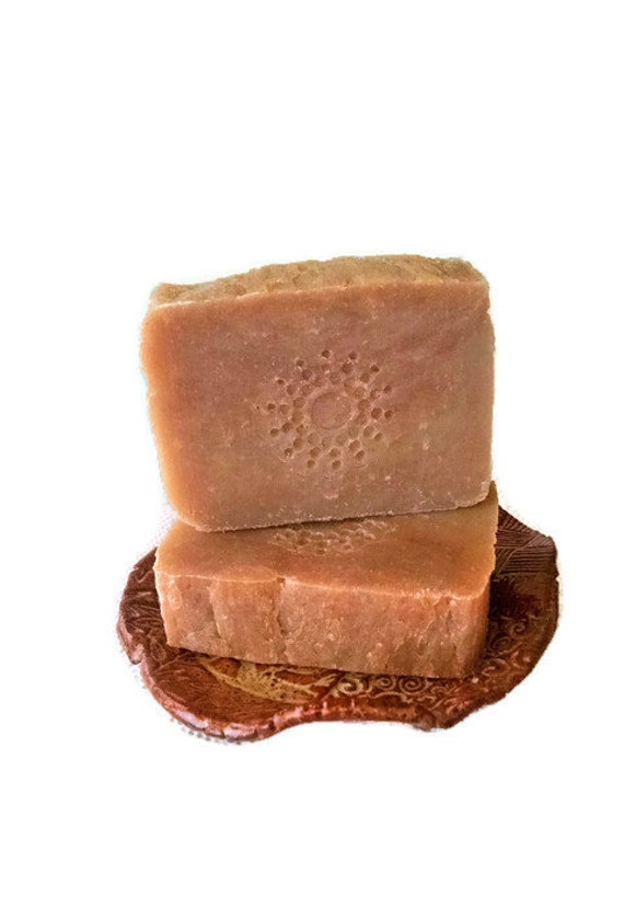 Nag Champa Soap - Handmade Hot Process Vegan Friendly Soap Bar - Delicate by Nature