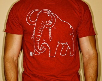 SMALL ONLY! Woolly Nelson - woolly mammoth Willie Nelson shirt