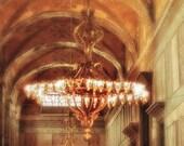 Turkey photography, Hagia Sophia photo, Chandelier photography - The Ottoman Empire