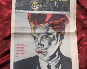 East Village Eye No 1 First Issue 1979 Jackie Curtis James White Kohlhofer Satynchuk Geiger Arts Artists Music