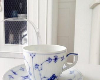 Stunning Royal Copenhagen Denmark Cup and Saucer