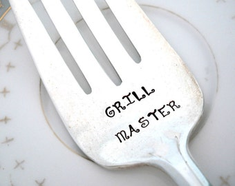 GRILL MASTER - Turkey Meat Fork - Gift for Dad - BBQ Fork - Lufberry 1915