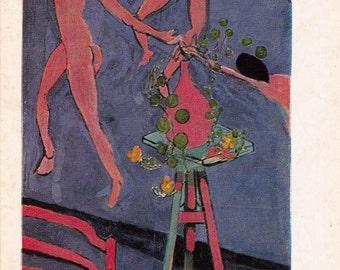 "H. Matisse (Nasturtiums with ""The Dance"") Print, Postcard -- 1982"